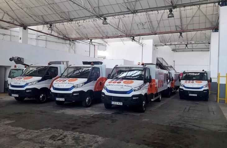 Madrid tendrá diez nuevos camiones ecológicos propulsados a gas
