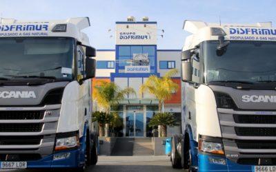 Camiones Scania de GNL para ampliar la flota de Disfrimur