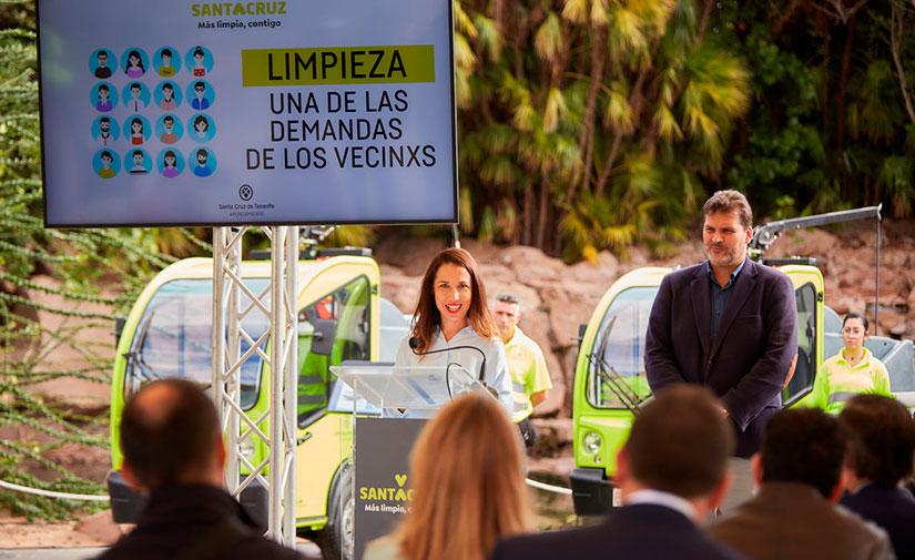 Santa Cruz de Tenerife incorpora vehículos a gas en su flota municipal de limpieza