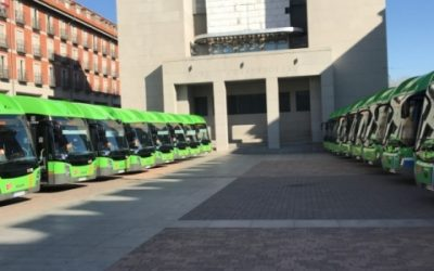 141 autobuses a GNC de las flotas de transporte público serán financiados por el BEI