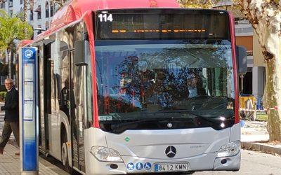Jerez reduce las emisiones de gases de efecto invernadero gracias a sus autobuses a Gas