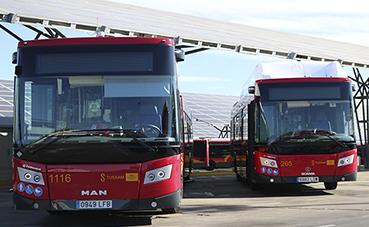 Sevilla sigue aumentando su flota de autobuses a Gas
