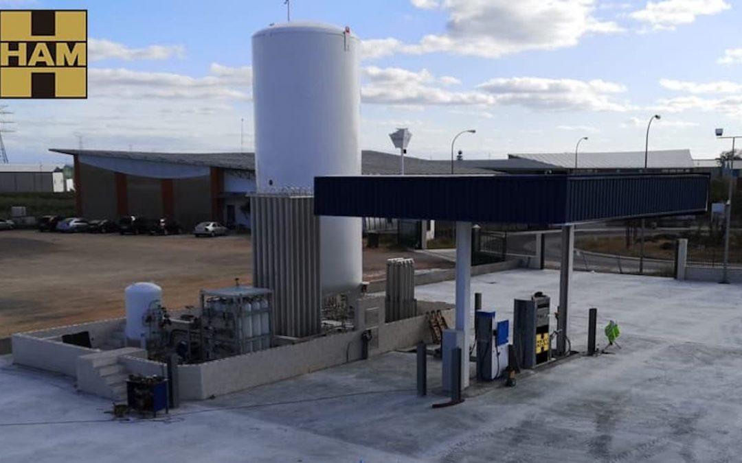 Albacete tiene nueva estación de servicio de gas natural comprimido y gas natural licuado