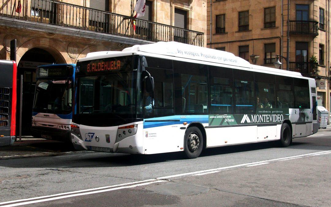 Salamanca incorpora nuevos autobuses de gas natural ratificando su compromiso con el medio ambiente