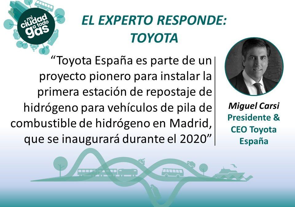 EL EXPERTO RESPONDE: Miguel Carsi, Presidente & CEO Toyota España