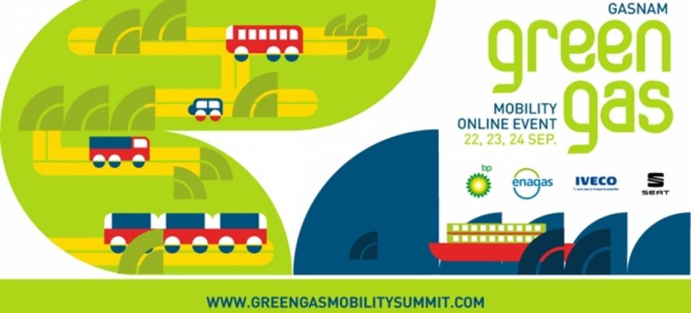 Gasnam celebrará en septiembre 2020 Green Gas Mobility Online Event