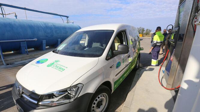 Chiclana tendrá todos los vehículos de los servicios municipales a gas natural