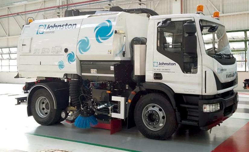 Gas natural comprimido en equipos de limpieza urbana