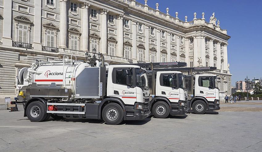 La Comunidad de Madrid tendrá camiones de gas natural para el servicio de saneamiento
