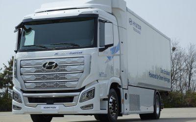 Hyundai presenta un camión de gran tonelaje propulsado por hidrógeno