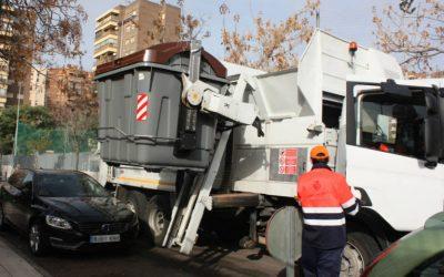 Castellón inicia la recogida selectiva de residuos orgánicos con vehículos propulsados con gas natural