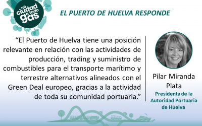 EL PUERTO DE HUELVA RESPONDE:  Pilar Miranda Plata, Presidenta de la Autoridad Portuaria de Huelva
