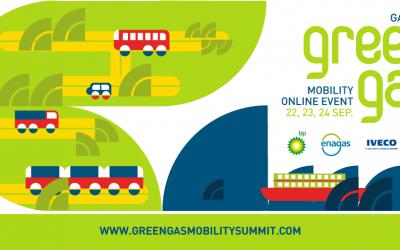 miciudadatodogas en Green Gas Mobility Online Event 2020 de GASNAM