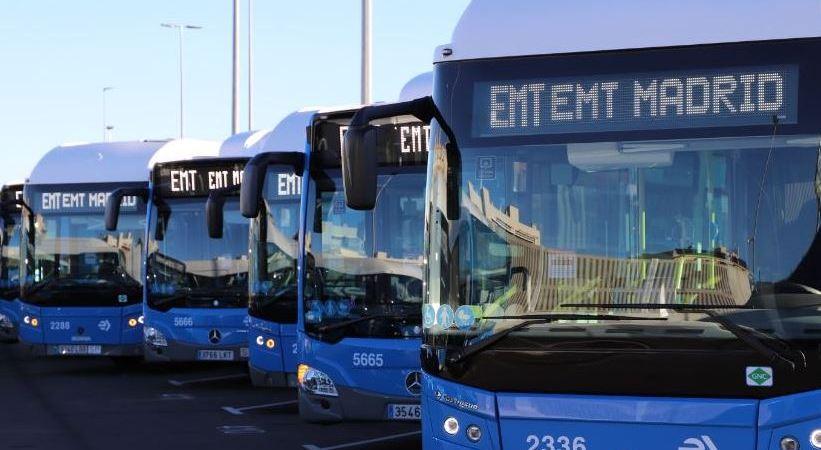 Madrid añade 520 autobuses a su flota de autobuses de Gas Natural Comprimido