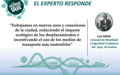 EL AYUNTAMIENTO DE HUELVA RESPONDE: Luis Albillo España, concejal de Movilidad y Seguridad Ciudadana