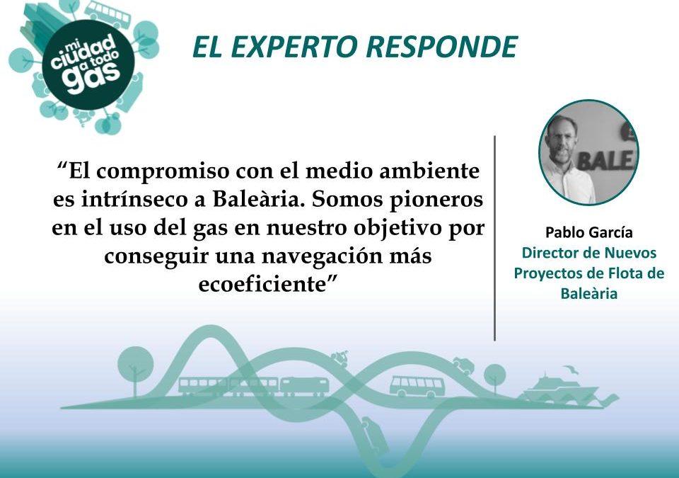 BALÉARIA RESPONDE: Pablo García, director de Nuevos Proyectos de Flota