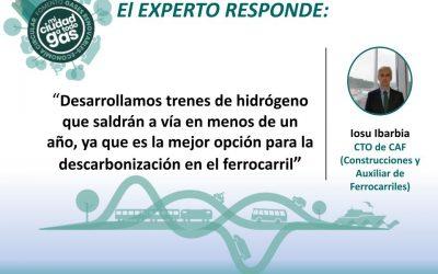 CONSTRUCCIONES Y AUXILIAR DE FERROCARRILES (CAF) RESPONDE: Iosu Ibarbia, CTO