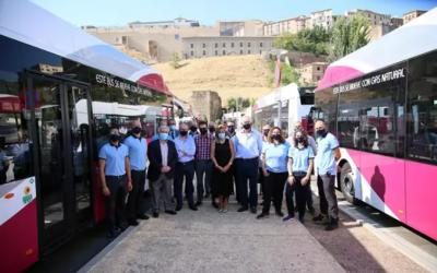 Toledo mantiene su apuesta por el Gas Natural como combustible alternativo en su flota de autobuses
