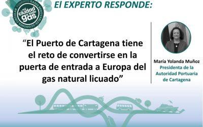 LA AUTORIDAD PORTUARIA DE CARTAGENA RESPONDE: María Yolanda Muñoz, Presidenta