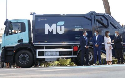 Murcia estrena una nueva flota de vehículos de recogida de residuos más sostenible