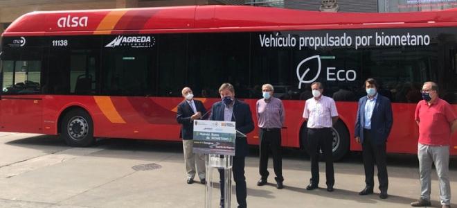 Zaragoza pone en marcha su primera línea metropolitana con biometano