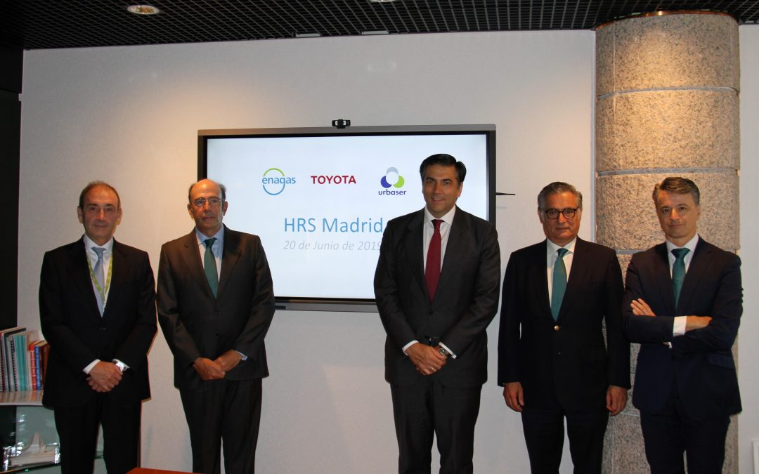 Enagás promueve la construcción de la primera estación de hidrógeno en España para turismos