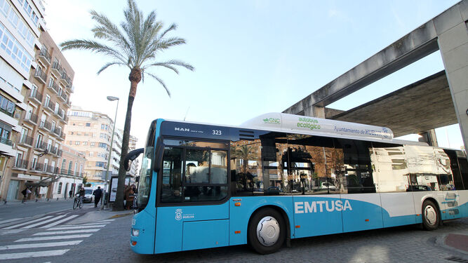 Huelva apuesta por el gas en el transporte urbano