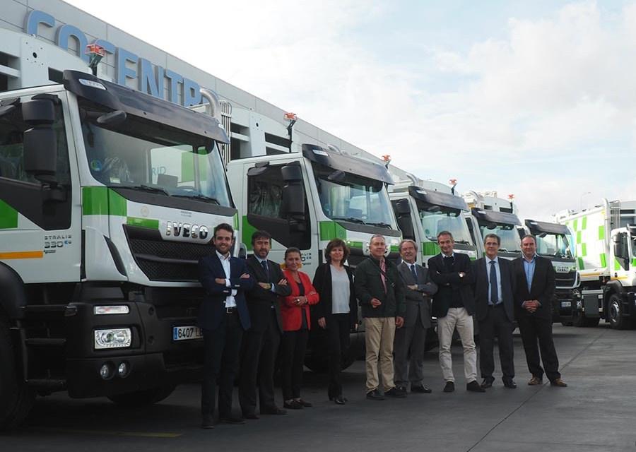 Madrid apuesta por el GNC en sus camiones de recogida de residuos