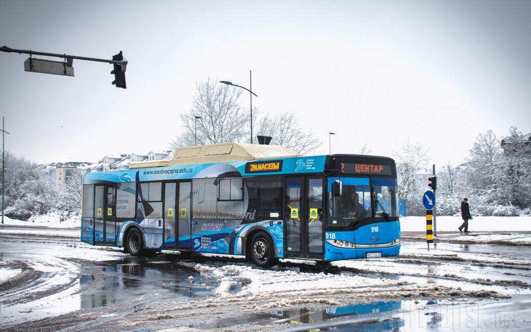Autobuses de GNC serán financiados en Serbia por el programa europeo Green Cities