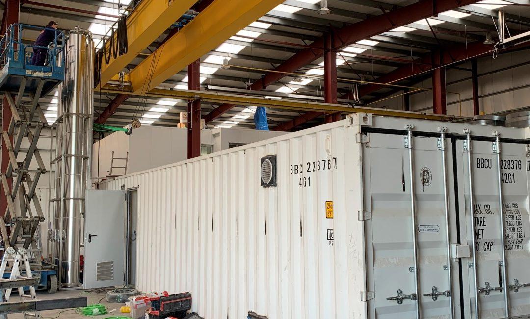 Puesta en marcha de la mini planta de biogás de AGF para la descentralización de residuos orgánicos