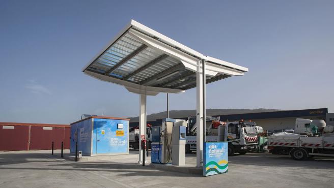 La Mancomunidad de la Comarca de Pamplona pone en servicio una gasinera para sus vehículos