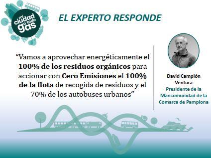 LA MANCOMUNIDAD DE LA COMARCA DE PAMPLONA RESPONDE: David Campión Ventura, presidente