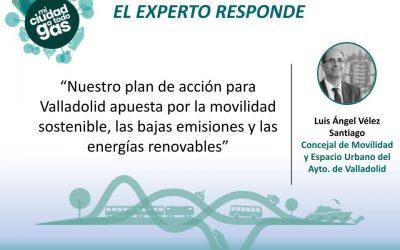 EL AYUNTAMIENTO DE VALLADOLID RESPONDE: Luis Ángel Vélez Santiago, concejal de Movilidad y Espacio Urbano
