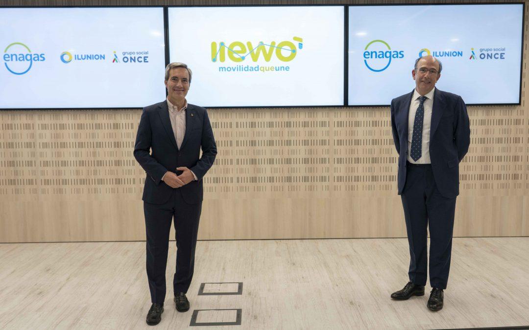 """""""Llewo"""", hasta ahora """"Gas2Move"""", renueva su marca e incorpora a su accionariado a Ilunion"""