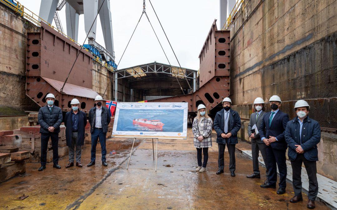 La compañía Scale Gas participa en el proyecto de construcción el primer barco de Bunkering de Gas Natural Licuado en astilleros españoles
