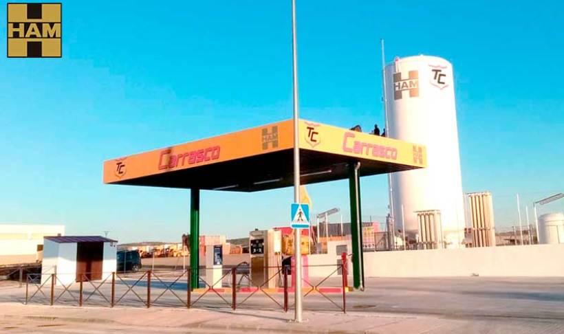 Madrid inaugura una nueva estación de Gas Natural Licuado en Velilla de San Antonio