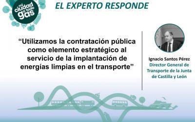 LA JUNTA DE CASTILLA Y LEÓN RESPONDE: Ignacio Santos Pérez, director general de Transporte