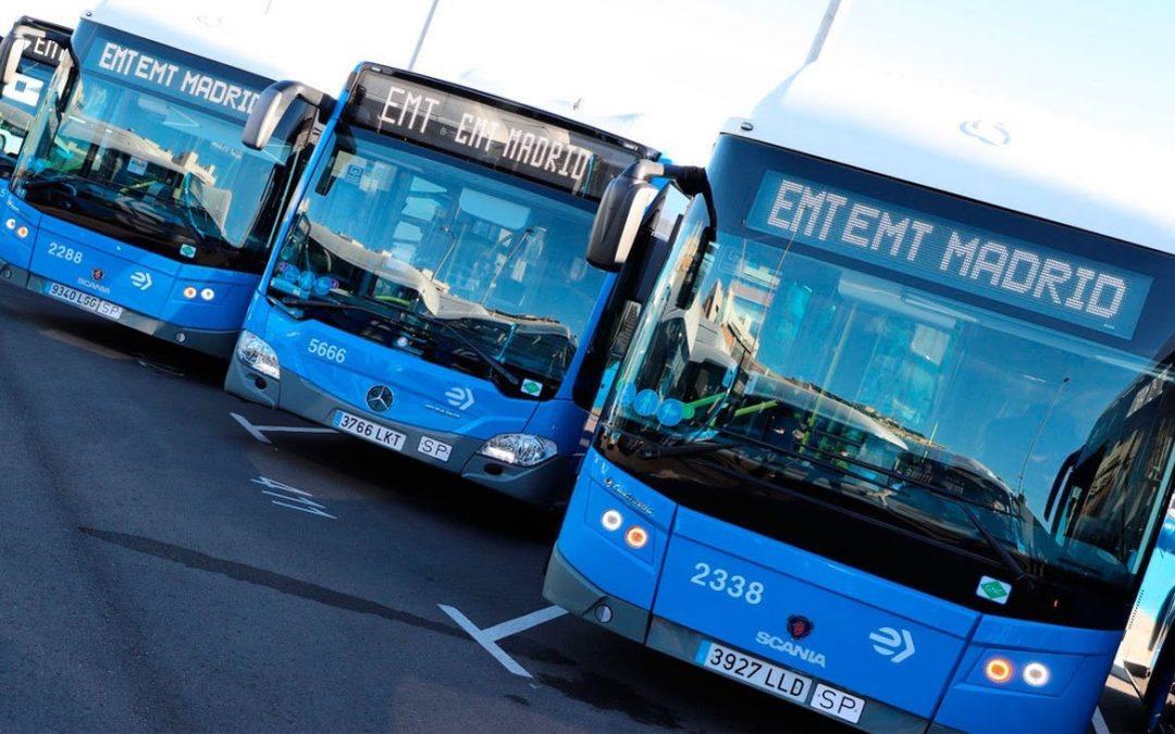 Madrid adjudica 520 nuevos autobuses a Gas Natural Comprimido