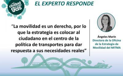 MITMA RESPONDE: Ángeles Marín Andreu, directora de la Oficina de la Estrategia de Movilidad del Ministerio de Transportes, Movilidad y Agenda Urbana