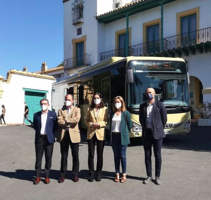 Alcalá de Guadaíra apuesta por el GNC como combustible para su flota de autobuses