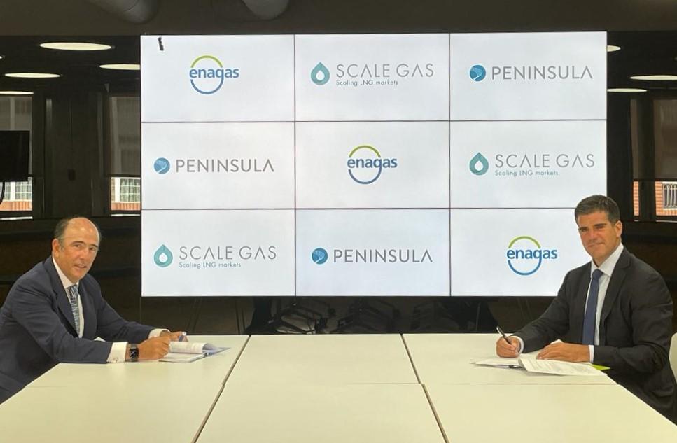 Scale Gas y Península acuerdan construir un buque para el suministro de bunkering de Gas Natural Licuado