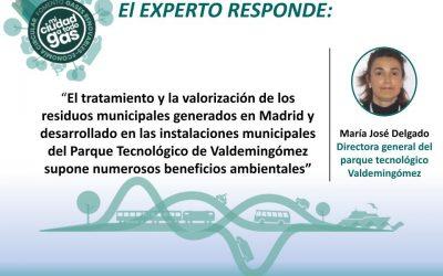 EL PARQUE TECNOLÓGICO DE VALDEMINGÓMEZ RESPONDE: María José Delgado, Directora General
