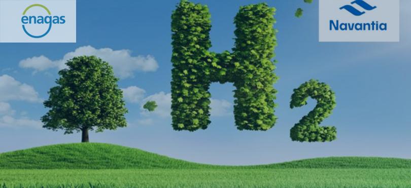 Enagás y Navantia colaboran para desplegar el hidrógeno verde en España