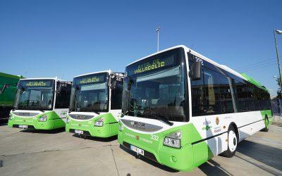 Valladolid apuesta por el GNC y adjudica la renovación de 57 autobuses en los próximos cuatro años