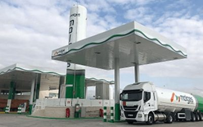 Molgas planea construir una docena de estaciones de servicio de gas natural vehicular en Francia en los próximos dos años