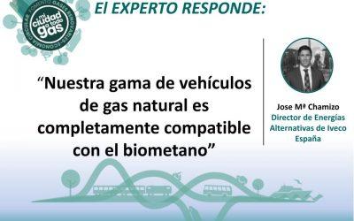 IVECO RESPONDE: José María Chamizo, Director de Energías Alternativas