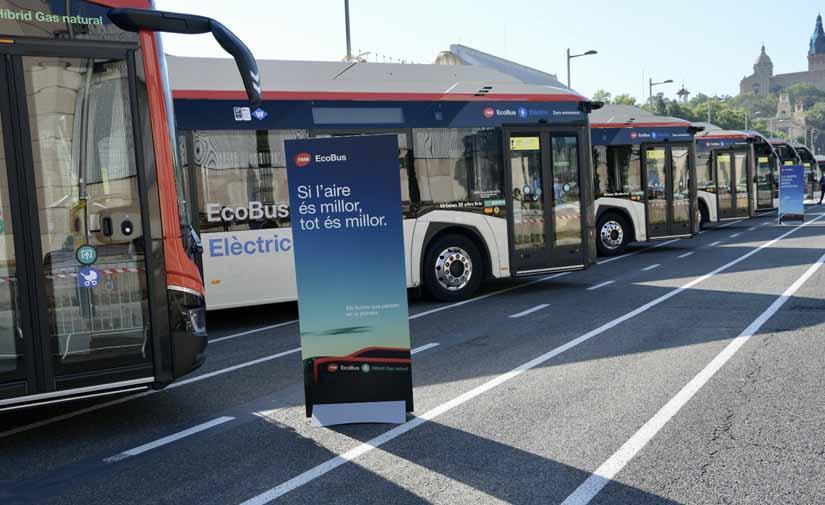 Transports Metropolitans de Barcelona (TMB) incorporará 108 nuevos autobuses a Gas Natural Comprimido en 2022