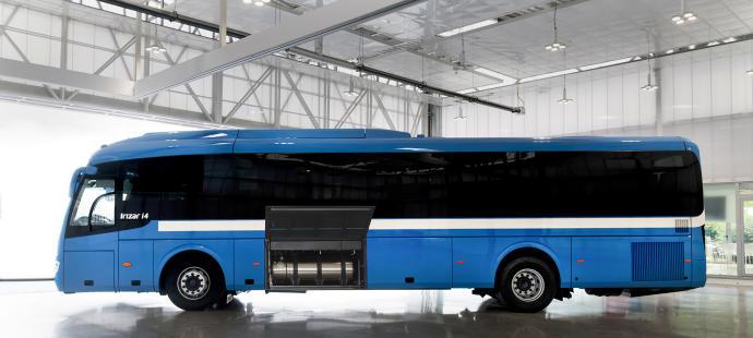 Irizar presenta su autobús de gas natural licuado con una autonomía de hasta 1.000 kms