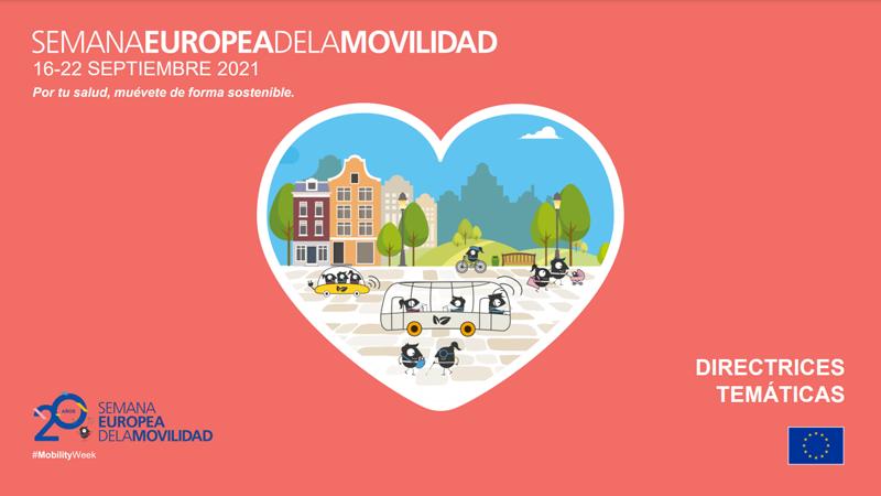 La Semana Europea de la Movilidad 2021 será del 16 al 22 de septiembre