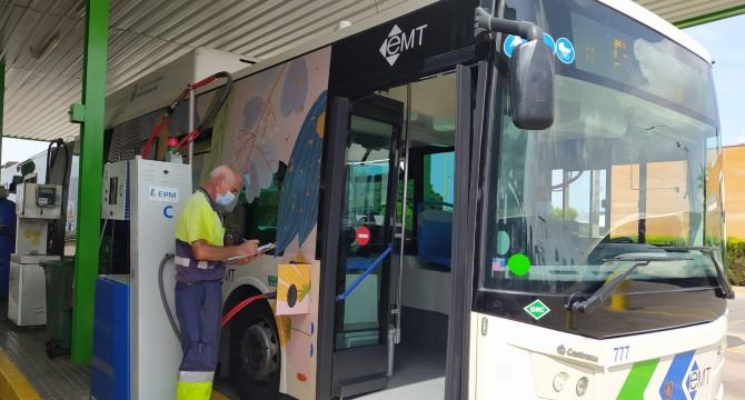 Redexis construye la infraestructura para suministrar gas natural a la flota de autobuses de la EMT en Palma